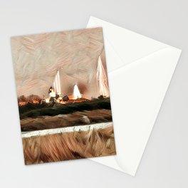 AUTUMN HARBOR Stationery Cards