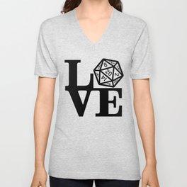 Love DnD Unisex V-Neck