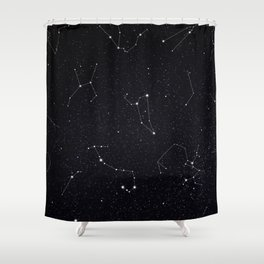 Constellations Shower Curtain