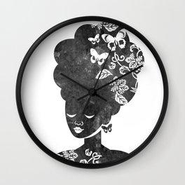 Queen of the Butterflies Wall Clock