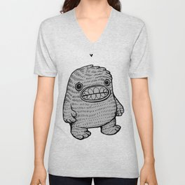 Monster Love  Unisex V-Neck