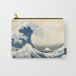 The Great Wave off Kanagawa Hokusai Carry-All Pouch