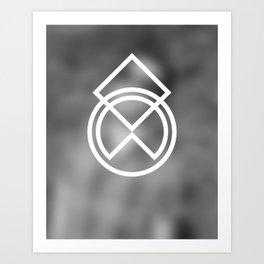 Don't Think 04 Art Print
