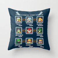rogue Throw Pillows featuring Rogue Masters by thom2maro