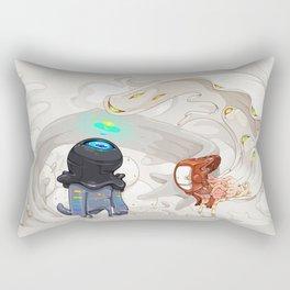 Consumption Rectangular Pillow