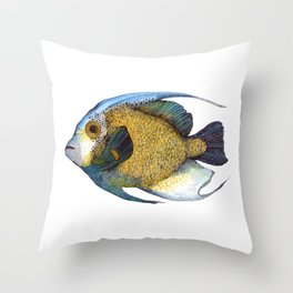 Fish Nr. 3 Throw Pillow