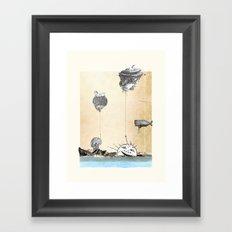 New day rising Framed Art Print