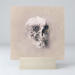 Decay Skull Light Mini Art Print