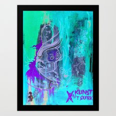 Art Is Yoghurt / Kunst ist Quark Art Print