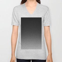 Ombre Grey Unisex V-Neck