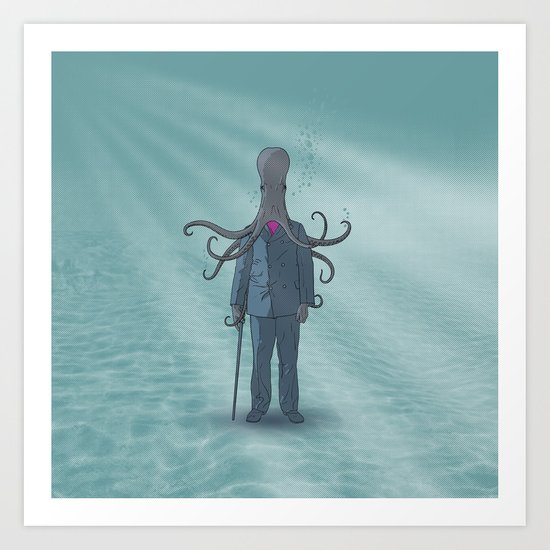 Beyond the Sea Art Print