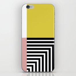 Modern art iPhone Skin