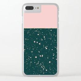 XVI - Rose 1 Clear iPhone Case