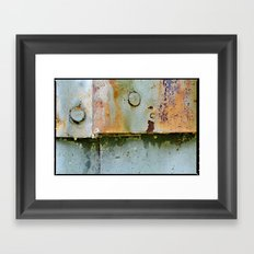 Divots and Paint Framed Art Print