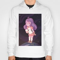 puppycat Hoodies featuring Bee and Puppycat by Steph Harrison