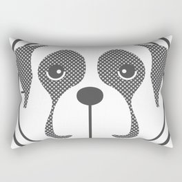 Annie the Boxer Badge Rectangular Pillow
