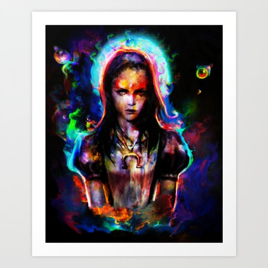 Alice madness returns II Art Print