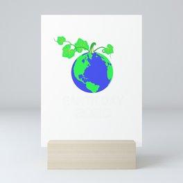 Happy Earth Day 2020 Mini Art Print