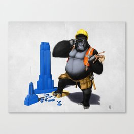 Building an Empire (Wordless) Canvas Print