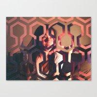 shining Canvas Prints featuring Shining by Joshua Lew