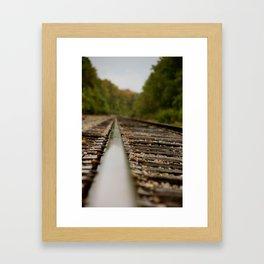 railroad 2 Framed Art Print