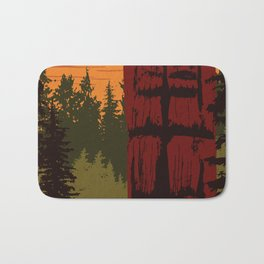 Gwaii Haanas National Park Reserve, National Marine Conservation Area Reserve & Haida Heritage Site Bath Mat
