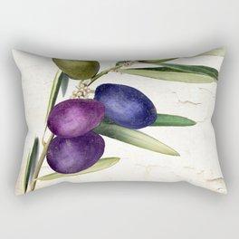 Olive Branch III Rectangular Pillow