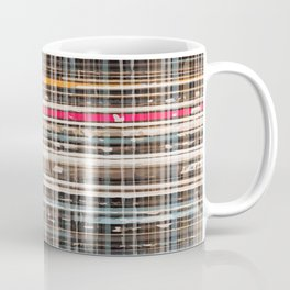 structure with red lines Coffee Mug