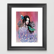 Lilitha Framed Art Print