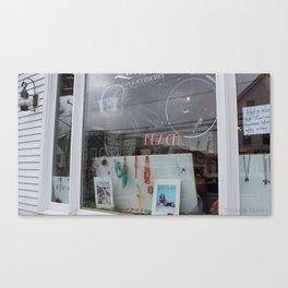 Window Front Canvas Print