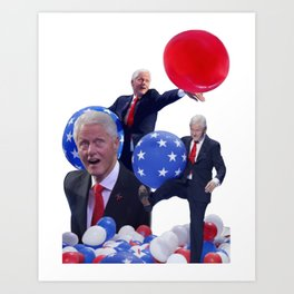 Bill's Balloons Art Print