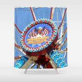 Dreamland Amusements Shower Curtain
