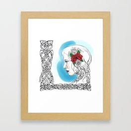 Celtic Rose Framed Art Print