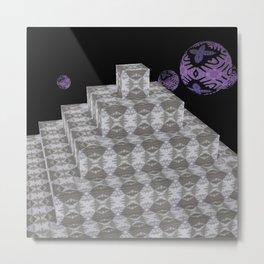 Pyramide Grotesque 23 Metal Print