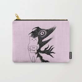 """I'm """"fine"""" Carry-All Pouch"""
