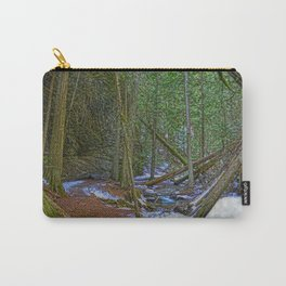 The Trail to the Falls - Nature Photo HDR Carry-All Pouch