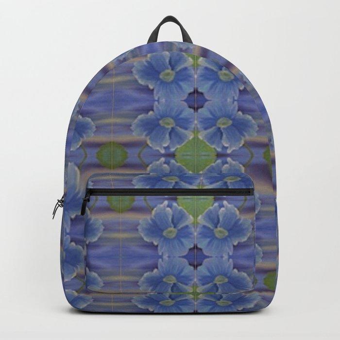Nasturtium Flower Pattern Backpack