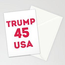 TRUMP 45 USA Stationery Cards