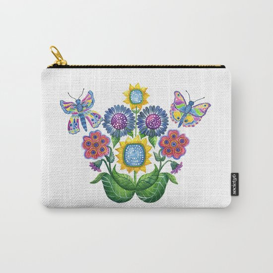 Butterfly Playground Carry-All Pouch