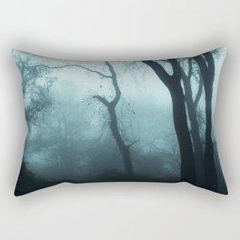 Dark Autumn Woods Rectangular Pillow