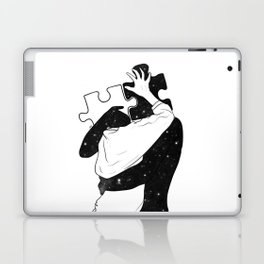 The puzzle love. Laptop & iPad Skin