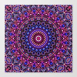 Mosaic Kaleidoscope 2 Canvas Print