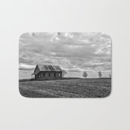 B&W Abandon School House Bath Mat
