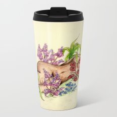 Slepping Beauty Metal Travel Mug