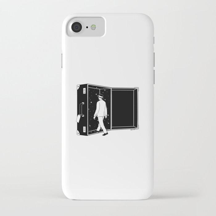 Space Traveler iPhone Case