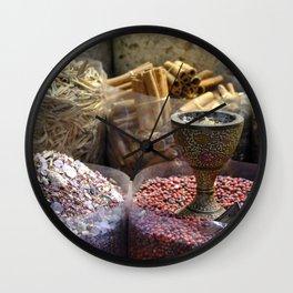 Spice souk Dubai Wall Clock