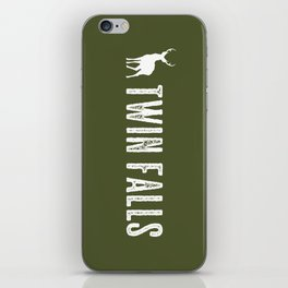 Deer: Twin Falls, Idaho iPhone Skin