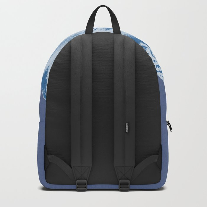 Blue Buddha Backpack