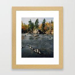 Penobscot River Framed Art Print