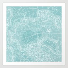 Polar Chill Art Print